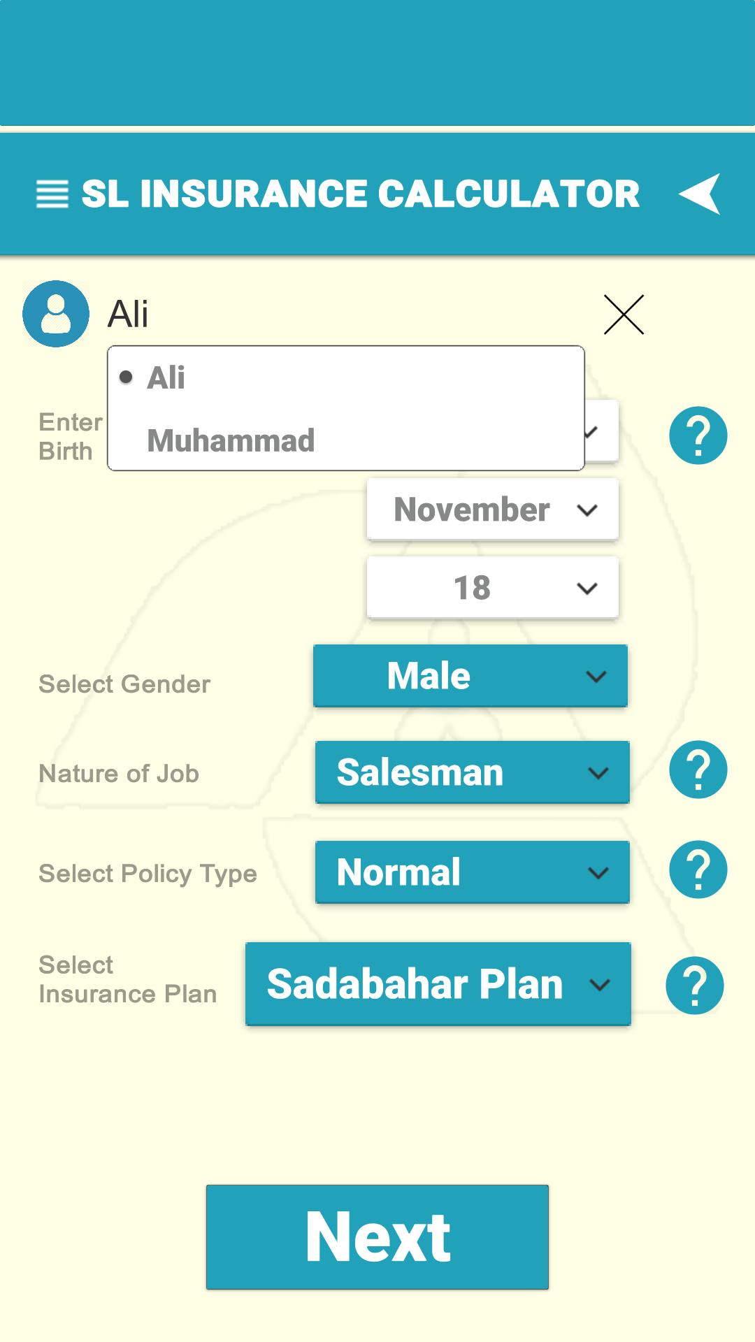 State Life Insurance Calculator for Android - APK Download