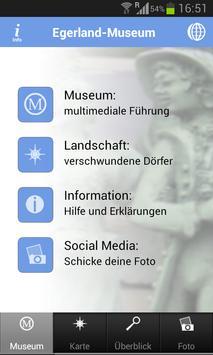 Egerland-Museum poster
