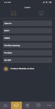 HP ProTrain captura de pantalla 3
