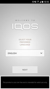 IQOS Connect Plakat