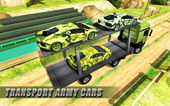 Army Cars Transport Truck 2018 截圖 1