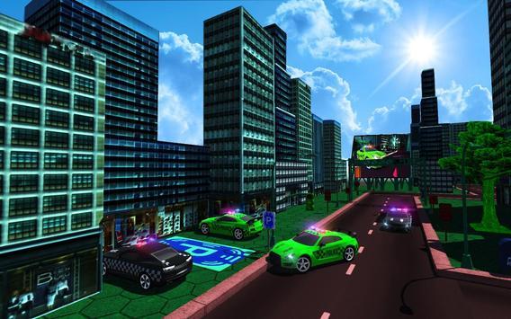 Advance Police Car Parking: SUV Parking Game 2018 imagem de tela 3