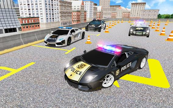 Advance Police Car Parking: SUV Parking Game 2019 Cartaz