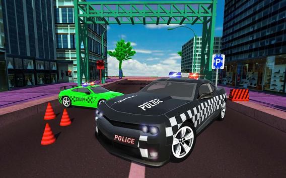 Advance Police Car Parking: SUV Parking Game 2018 Cartaz