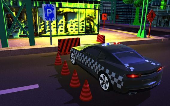 Advance Police Car Parking: SUV Parking Game 2018 imagem de tela 1