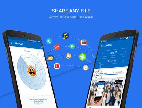 Share Files & Send Anywhere - SHAREall ảnh chụp màn hình 3