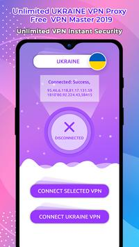 Unlimited UKRAINE  VPN Proxy : Free  VPN Master screenshot 4