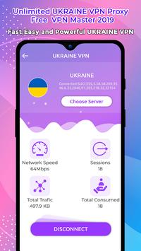 Unlimited UKRAINE  VPN Proxy : Free  VPN Master poster