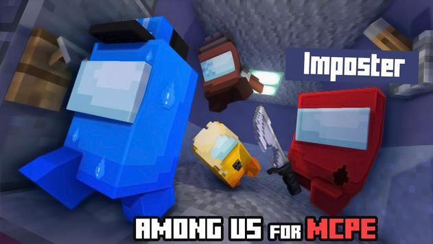 Maps of Among Us for Minecraft PE screenshot 2