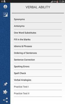 Pocket Verbal Ability screenshot 4