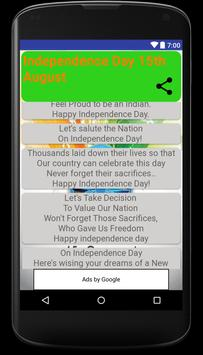Independence Day wishes, quotes, greetings, Images screenshot 1