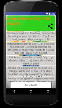 Independence Day wishes, quotes, greetings, Images screenshot 4