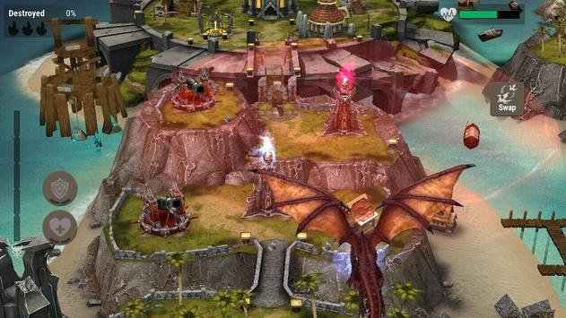 War Dragons स्क्रीनशॉट 5