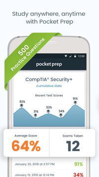 CompTIA Security+ Pocket Prep Plakat