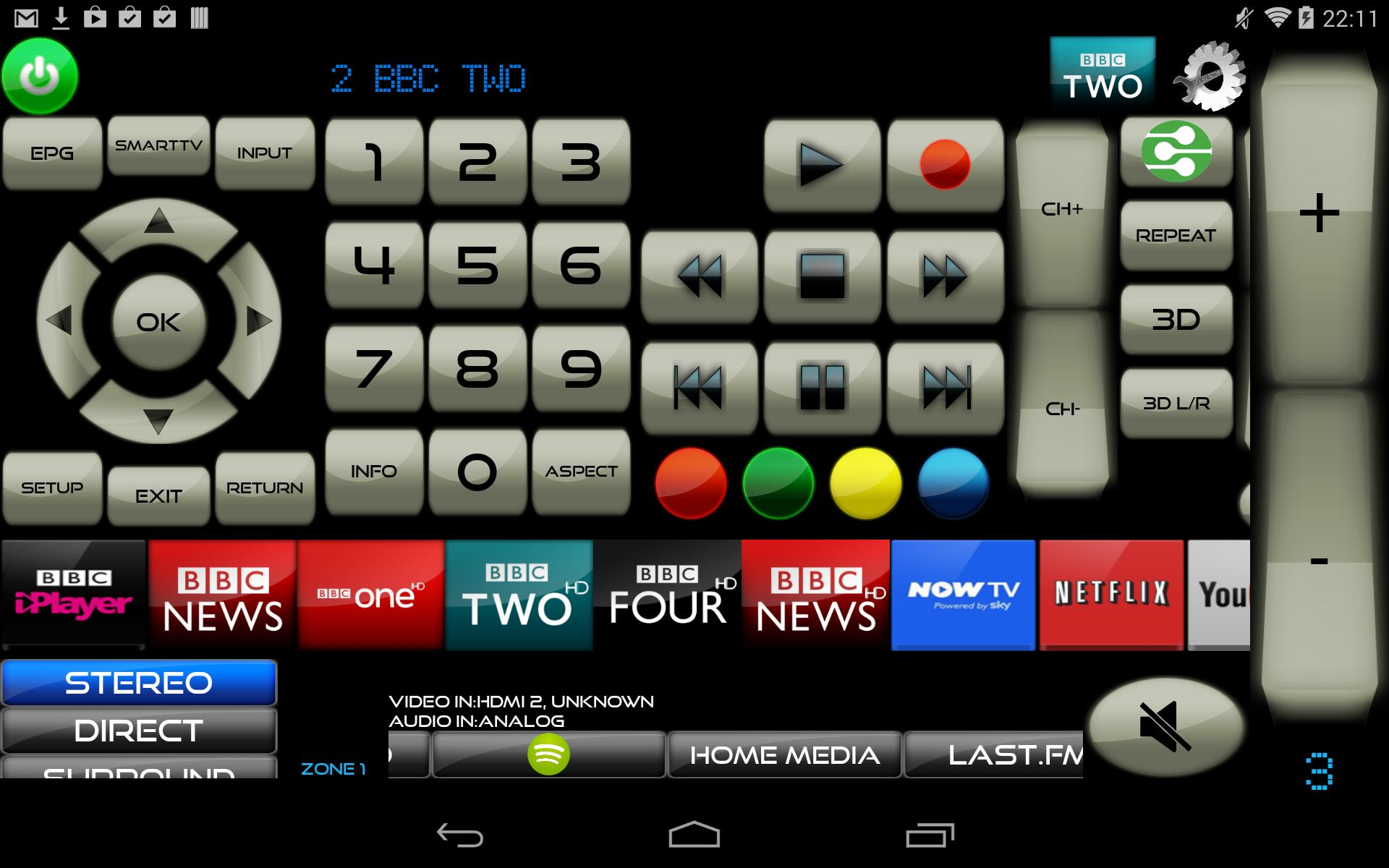 Remote for LG TV & LG Blu-Ray players for Android - APK Download