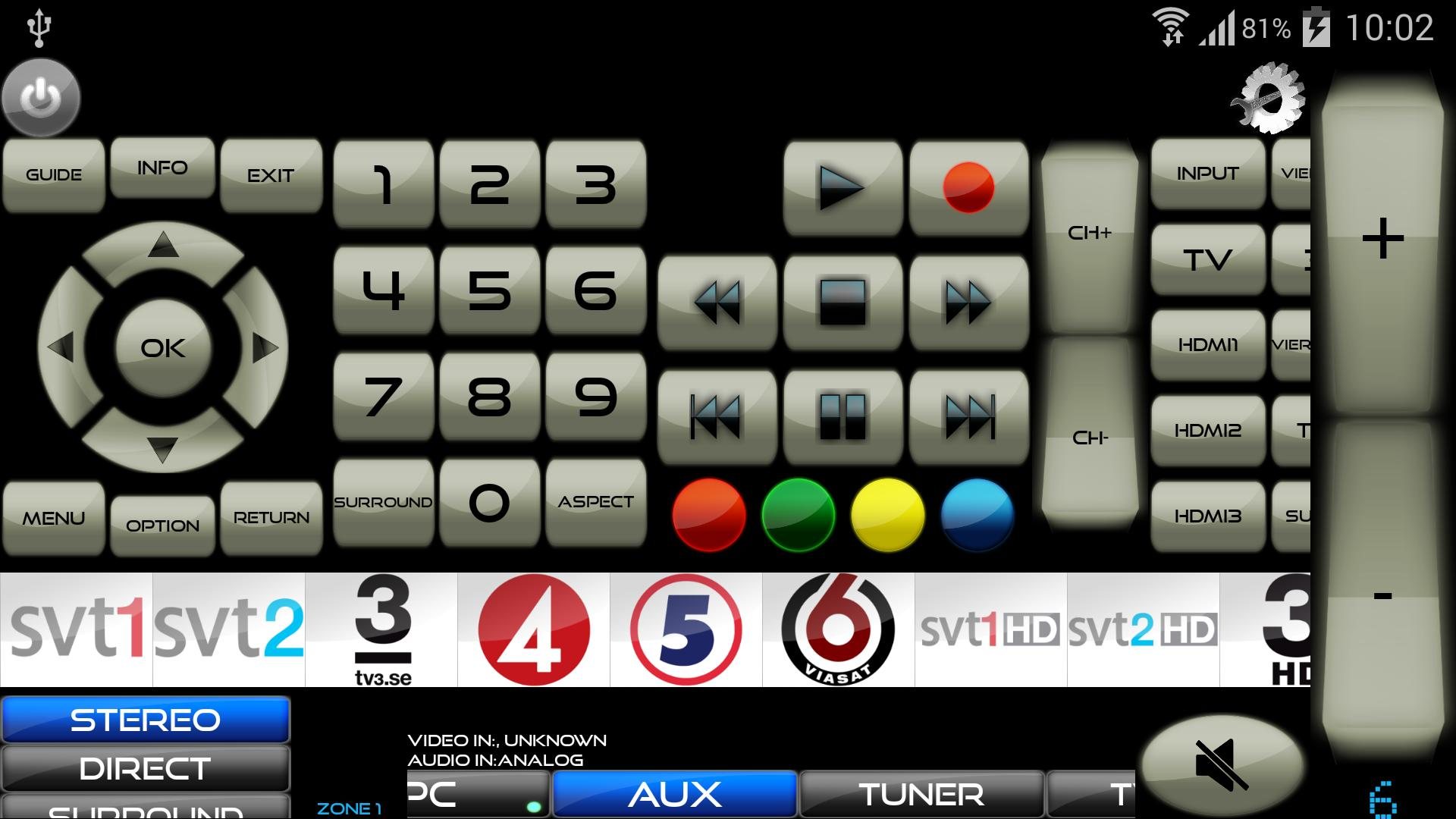 Remote for Panasonic TV+BD+AVR for Android - APK Download