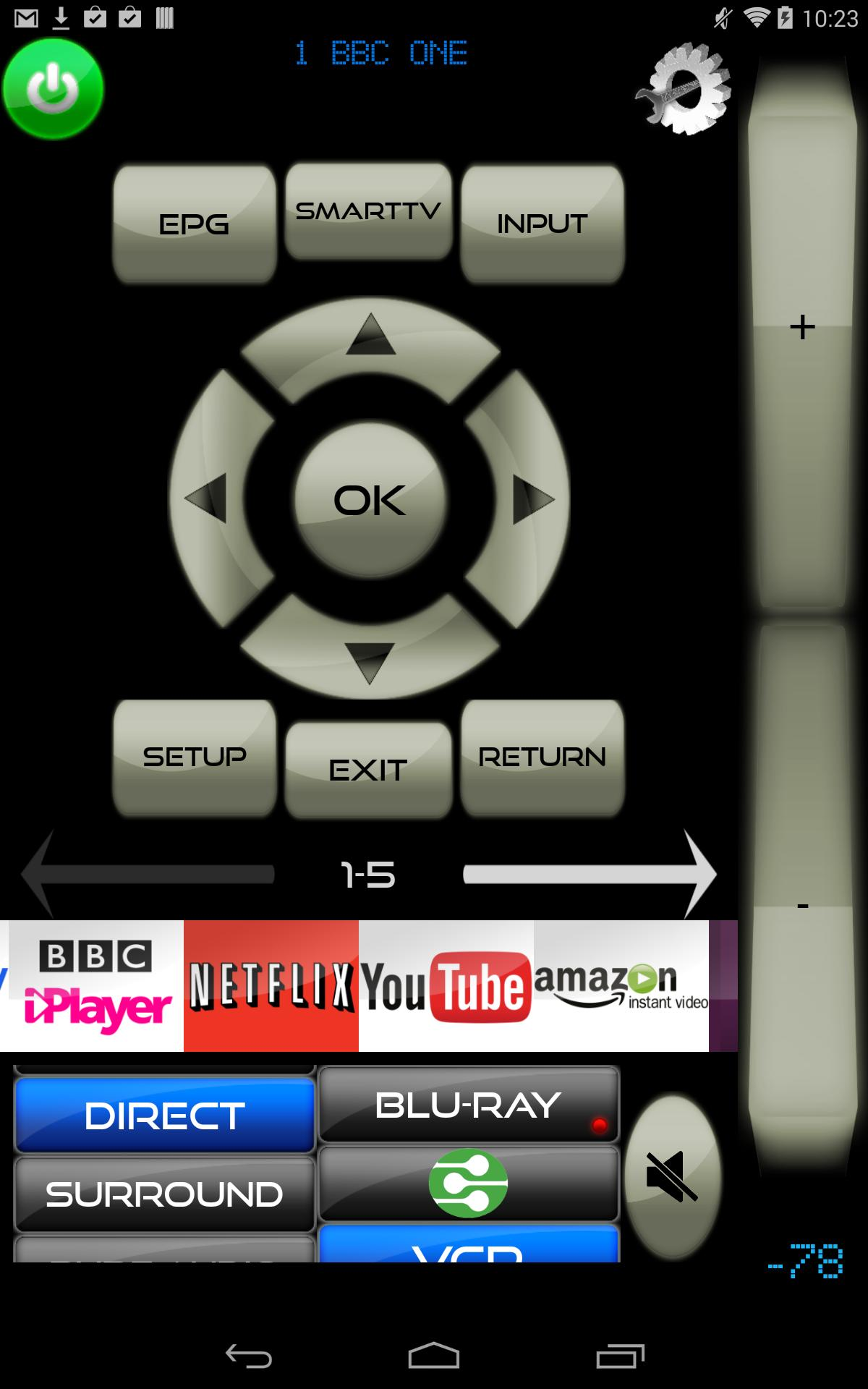 Lost TV/Cable/BDP remote control app for Android - APK Download