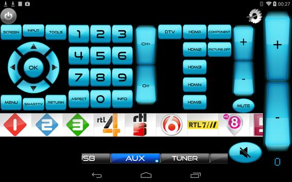 Sony Blu-Ray Player & TV Remote - Unofficial screenshot 2