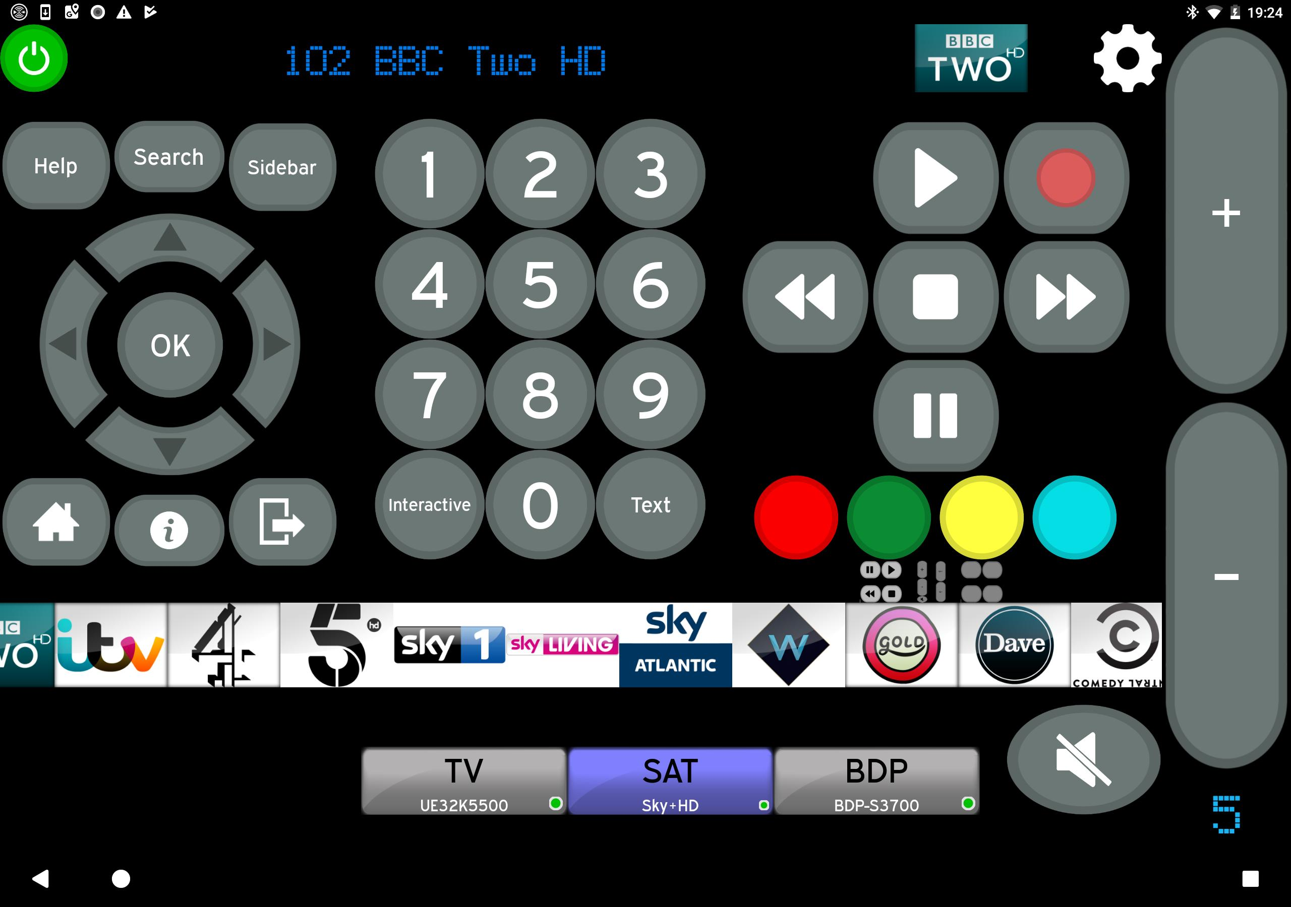 Remote for Sony TV & Sony Blu-Ray Players MyAV cho Android