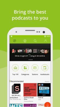 Podcast App & Podcast Player - Podbean poster