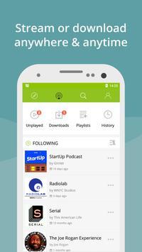Podcast App & Podcast Player - Podbean screenshot 1