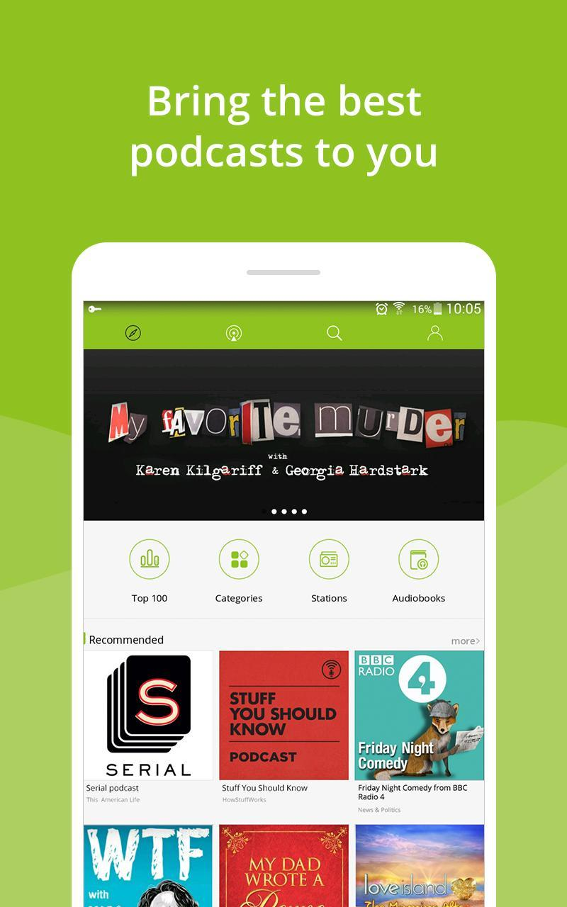 Podcast App & Podcast Player - Podbean for Android - APK Download
