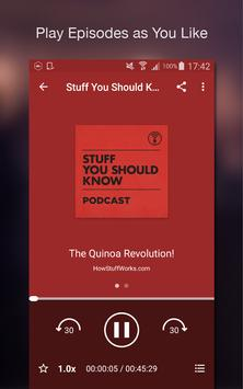 Podcast Player screenshot 3