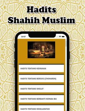 Hadits Sahih Muslim  Terlengkap poster