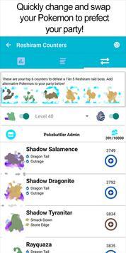 Pokebattler Raid Party स्क्रीनशॉट 2
