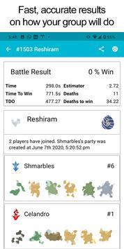 Pokebattler Raid Party स्क्रीनशॉट 4
