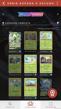 Dex de Cartas do Pokémon imagem de tela 3