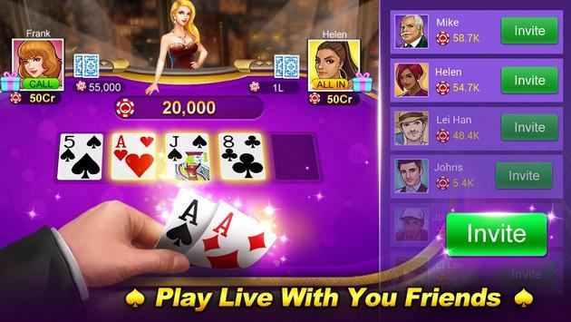 Poker Star: Texas Holdem Poker screenshot 6