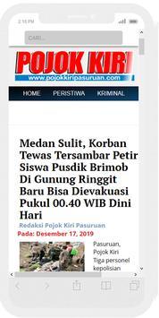 Pojok Kiri Pasuruan - Informasi Pasuruan Terkini screenshot 1