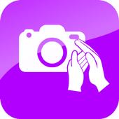 Easy selfie icon