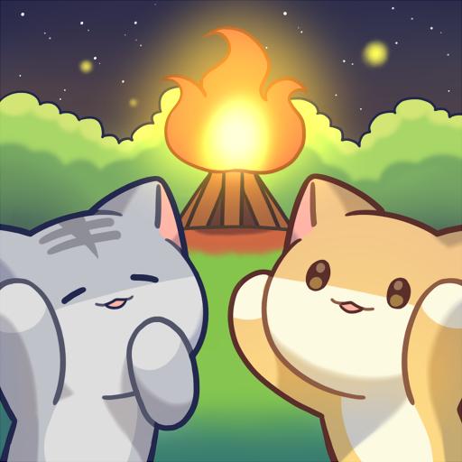 貓咪森林 - 露營地的故事