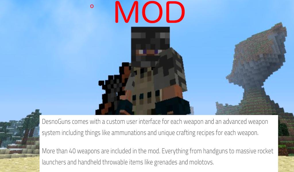 Best Minecraft Mods 2020.Guns Mod For Minecraft 2020 For Android Apk Download