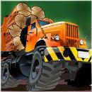 wood lumberjack truck tractor APK