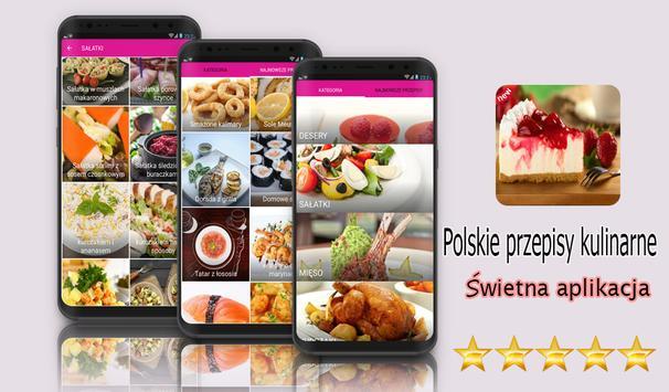 Polskie przepisy kulinarne poster