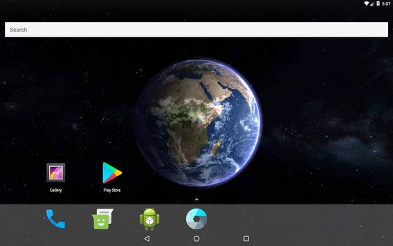 Earth 3D Live Wallpaper screenshot 4