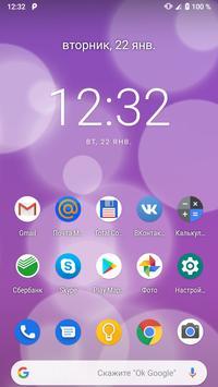 iOS Bubbles Live Wallpaper screenshot 5