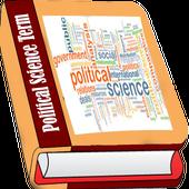 Political science book icon