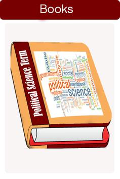 Political science book poster