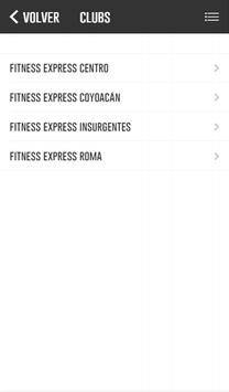 Fitness Express screenshot 1
