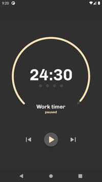 Refocus: Minimalist Pomodoro Timer Ekran Görüntüsü 2