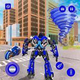 Police Tornado Robot