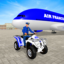 Police Cars Transport Airplane 2019 icon