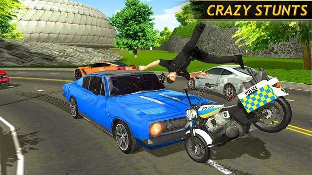 Police Bike Racing Free screenshot 2