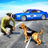 Police Dog Sim 2018 icône