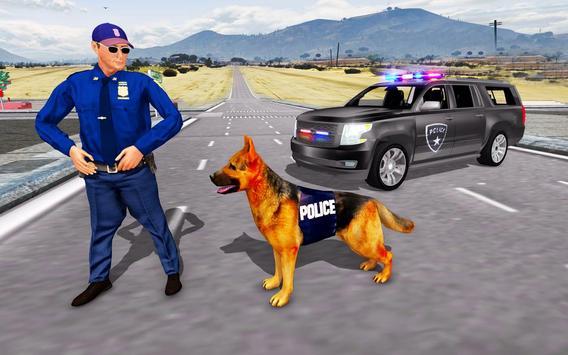 Police Dog Sim 2018 Affiche