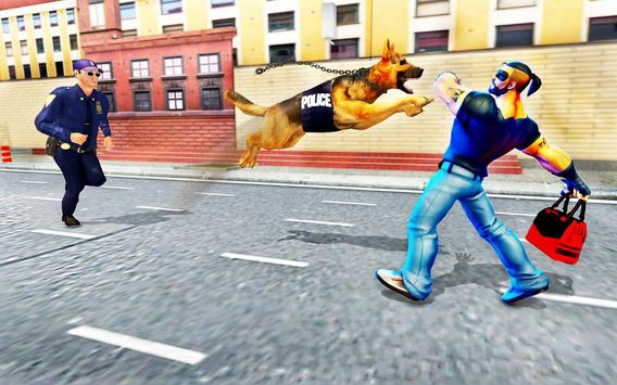 Police Dog Sim 2018 ảnh chụp màn hình 1